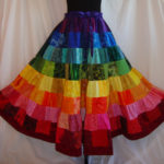 the prism puzzle skirt.