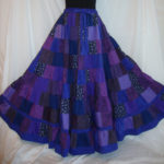 the amethyst aurora skirt.