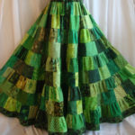 the birthday greens skirt.
