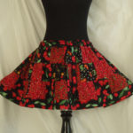 the cherries jubilee skirt.