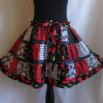 the rockabilly skirt.